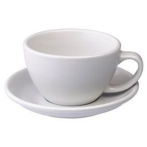 C088-19BWH	Egg	200ml Cappuccino Cup (White) SET OF 6
